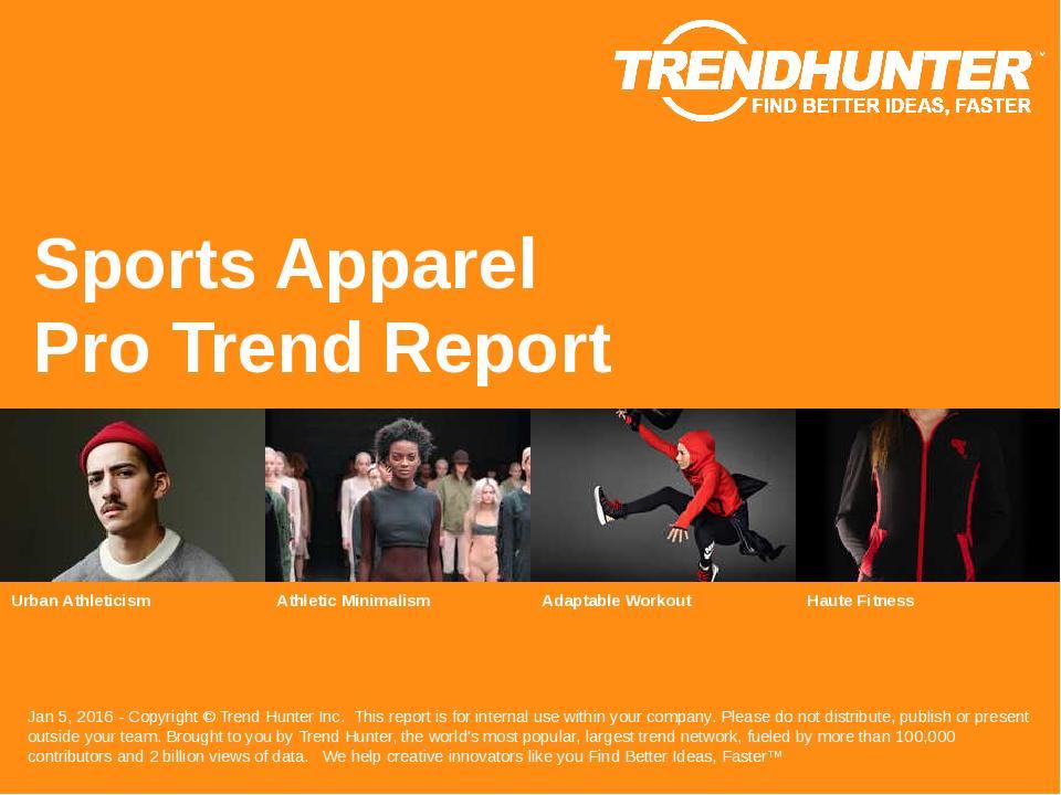 Custom Sports Apparel Trend Report & Custom Sports Apparel