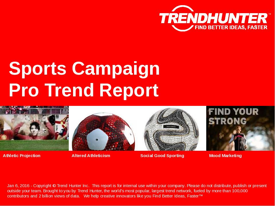 Sports Campaign Trend Report Research