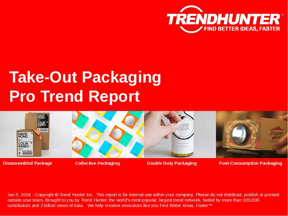 Take-Out Packaging Trend Report Research