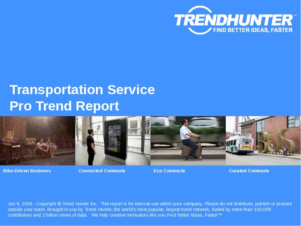 Transportation Service Trend Report Research