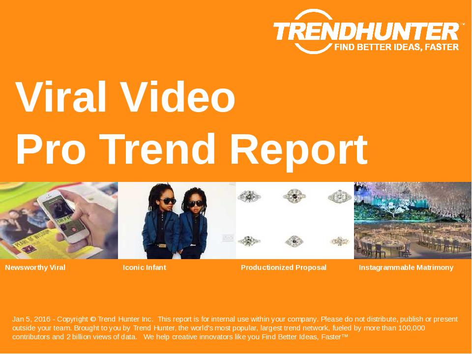 Viral Video Trend Report Research