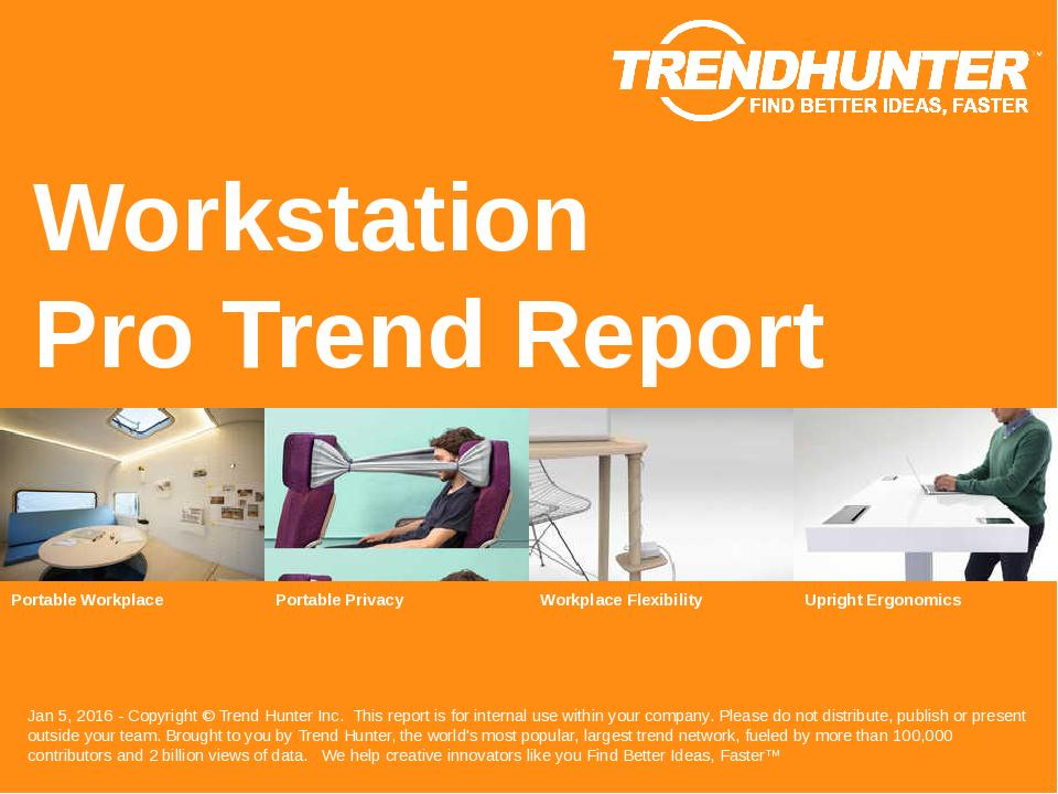 Workstation Trend Report Research