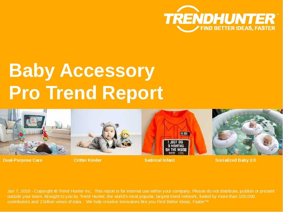 Baby Accessory Trend Report Research