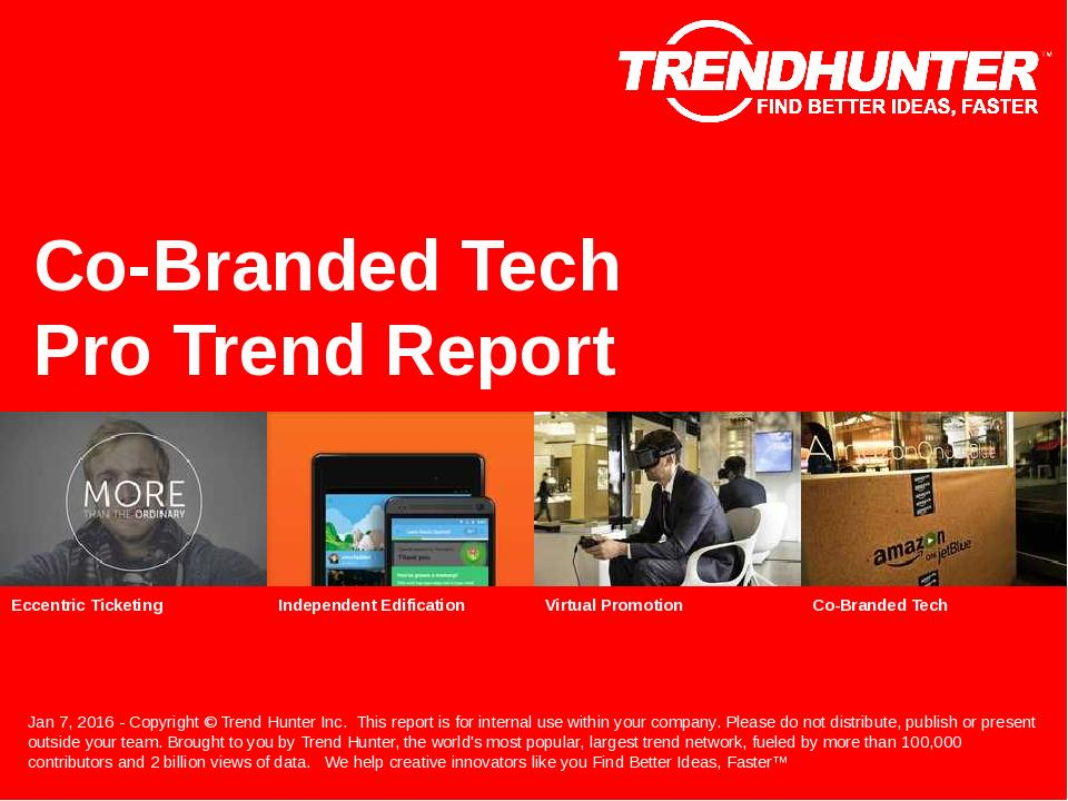 Co-Branded Tech Trend Report Research