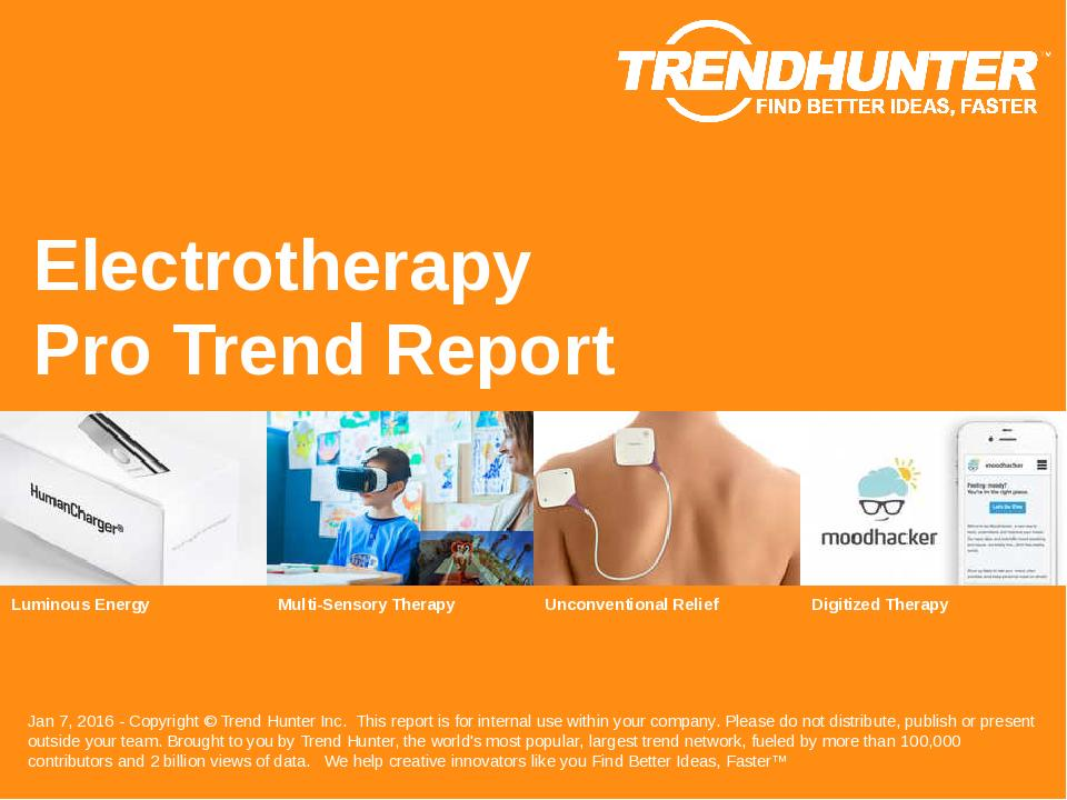 Electrotherapy Trend Report Research