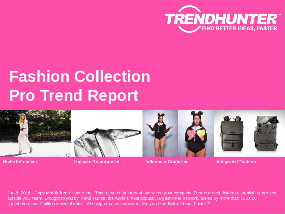 Fashion Collection Trend Report Research