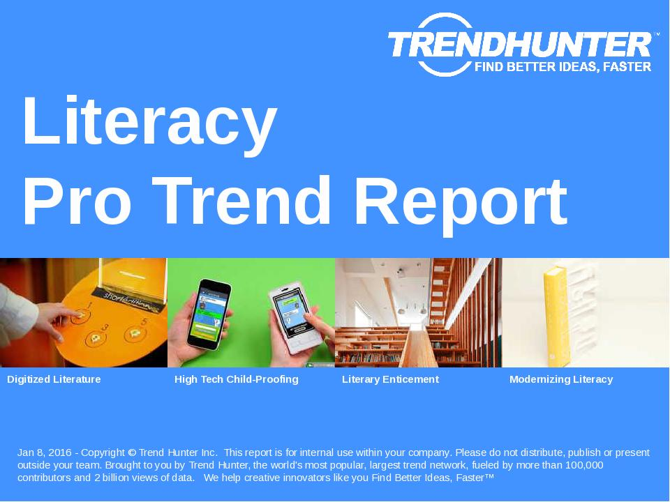 Literacy Trend Report Research