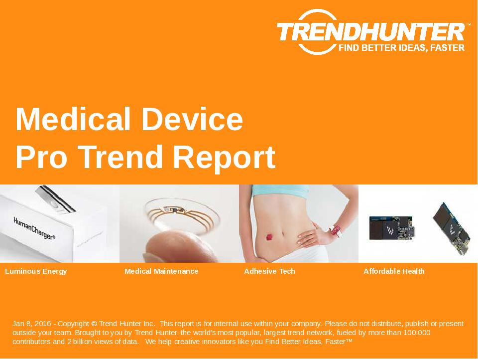 Medical Device Trend Report Research