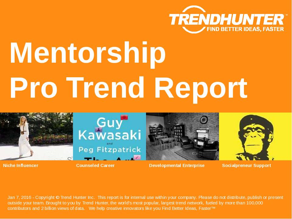 Mentorship Trend Report Research