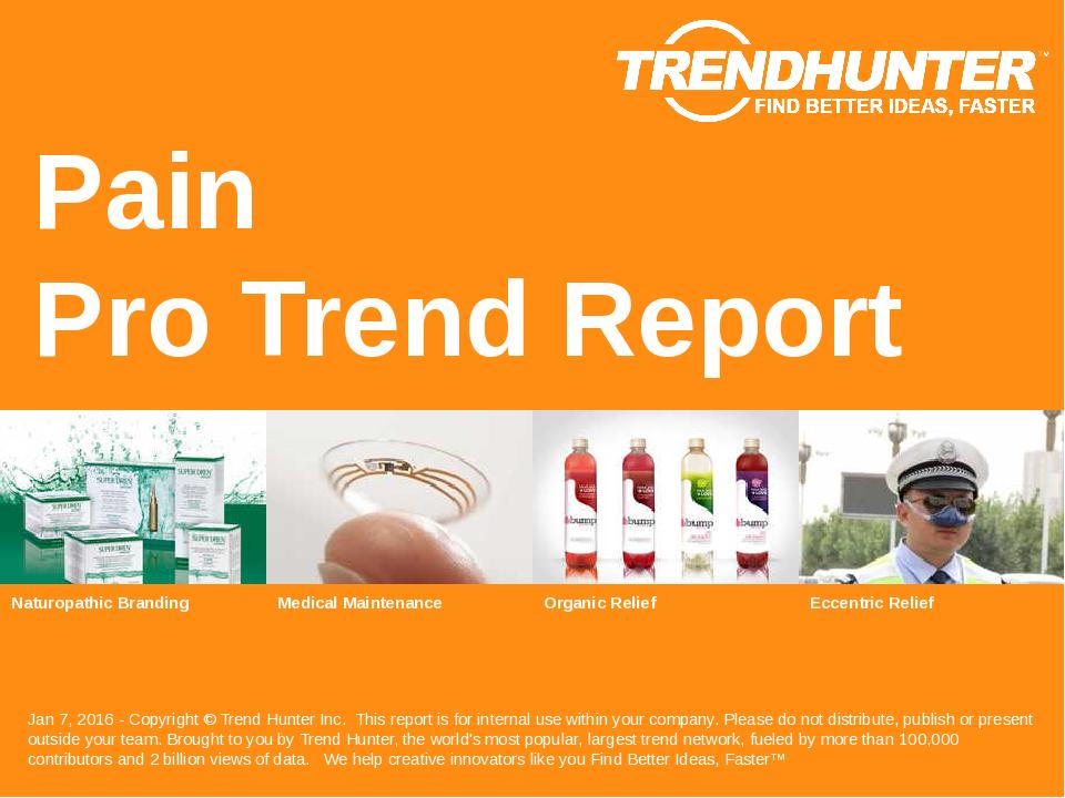 Pain Trend Report Research
