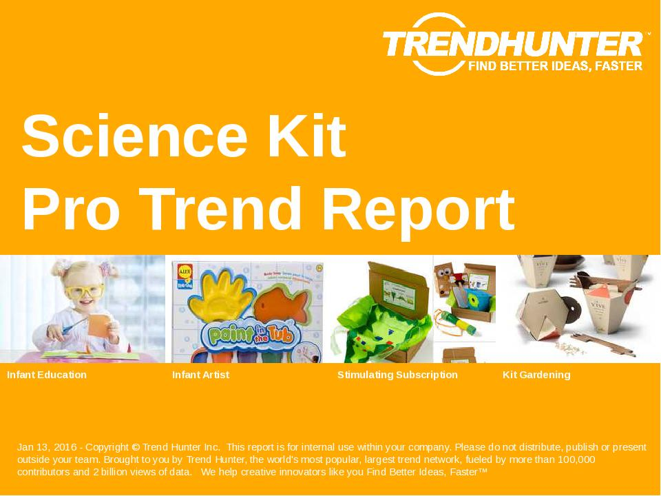 Science Kit Trend Report Research