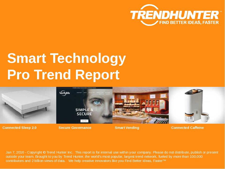 Smart Technology Trend Report Research