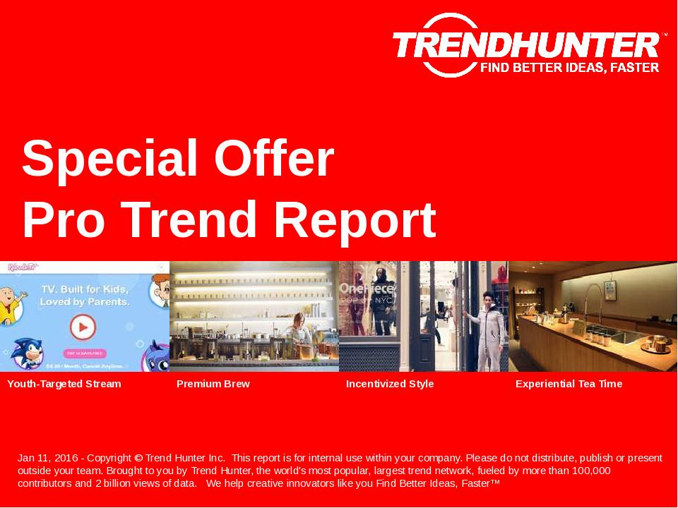 Special Offer Trend Report Research