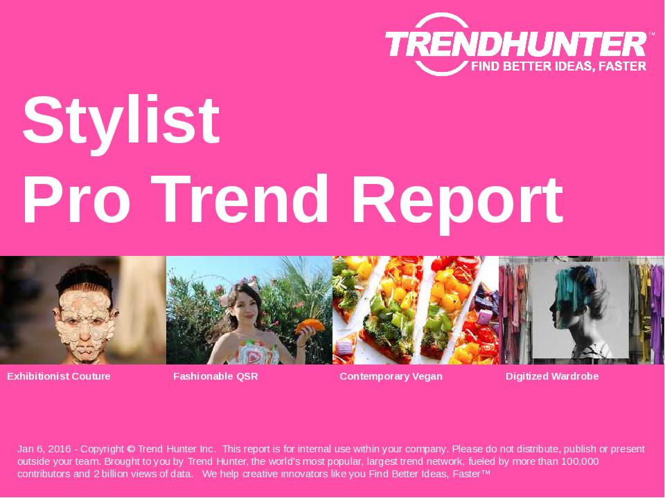 Stylist Trend Report Research