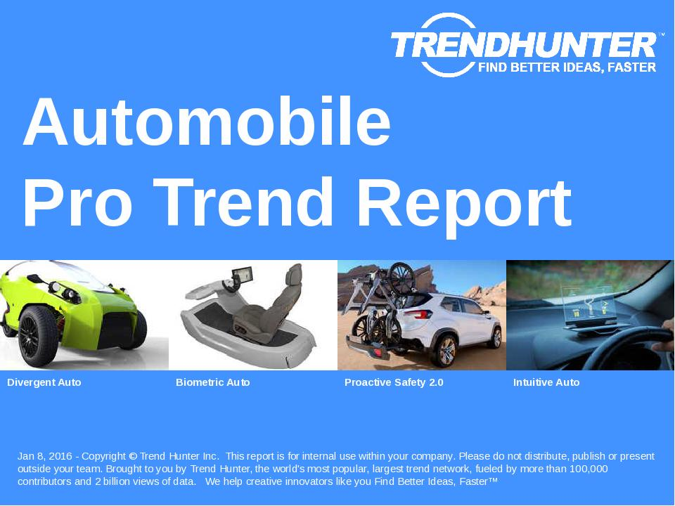 Automobile Trend Report Research