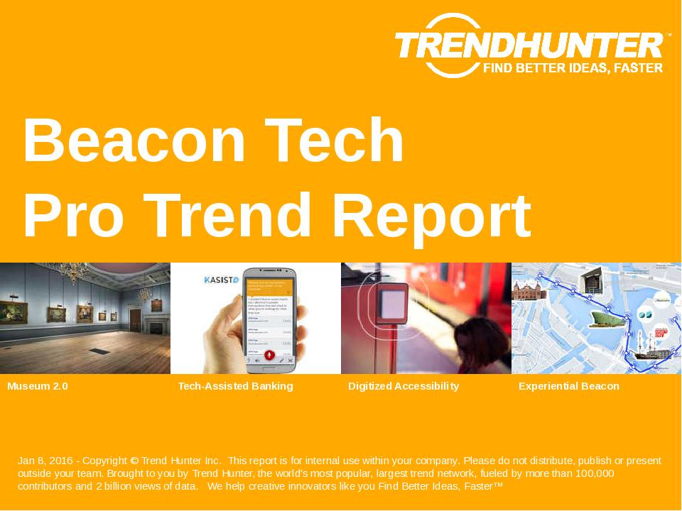 Beacon Tech Trend Report Research