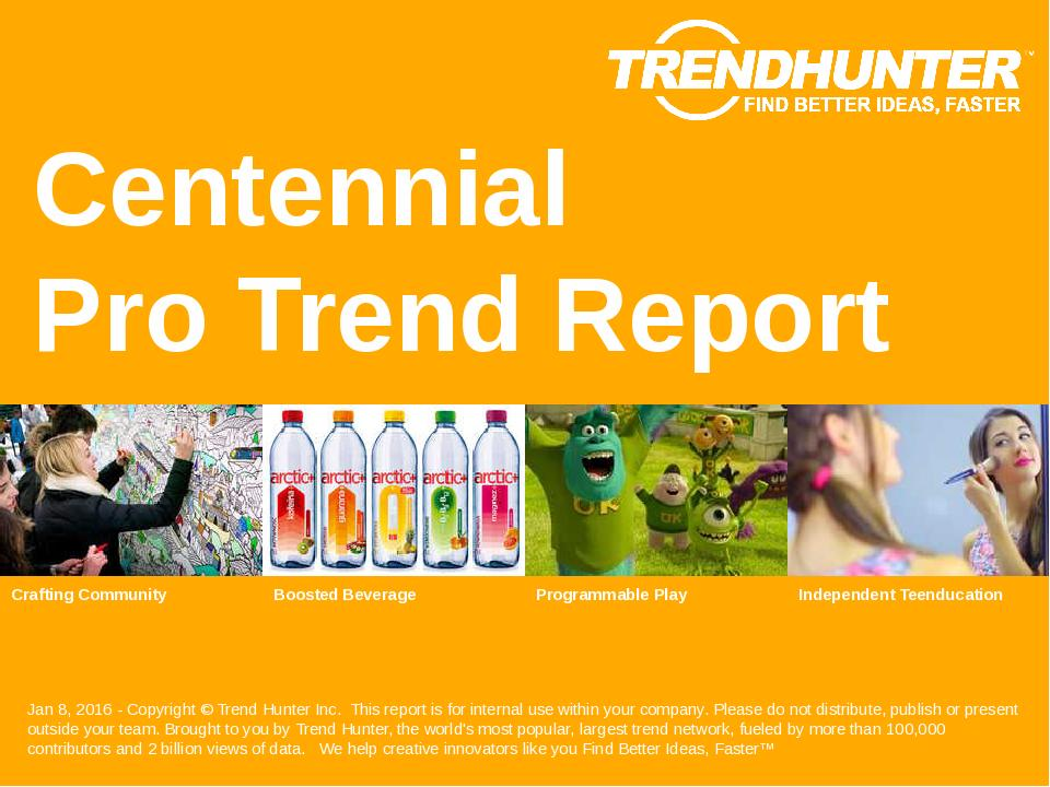 Centennial Trend Report Research