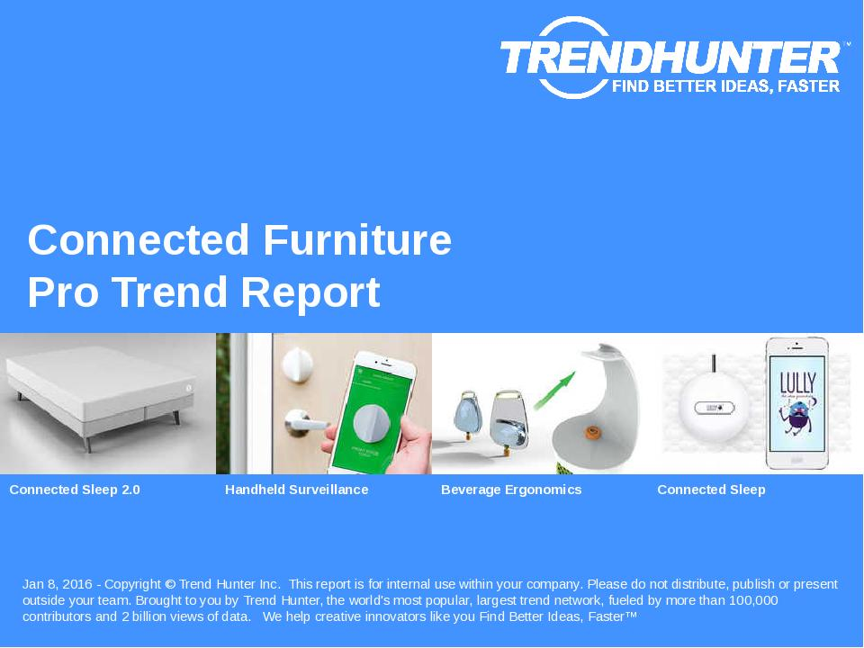 Connected Furniture Trend Report Research