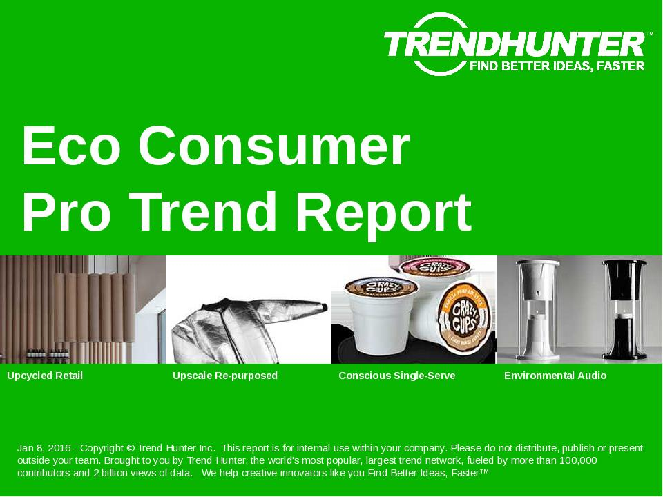 Eco Consumer Trend Report Research