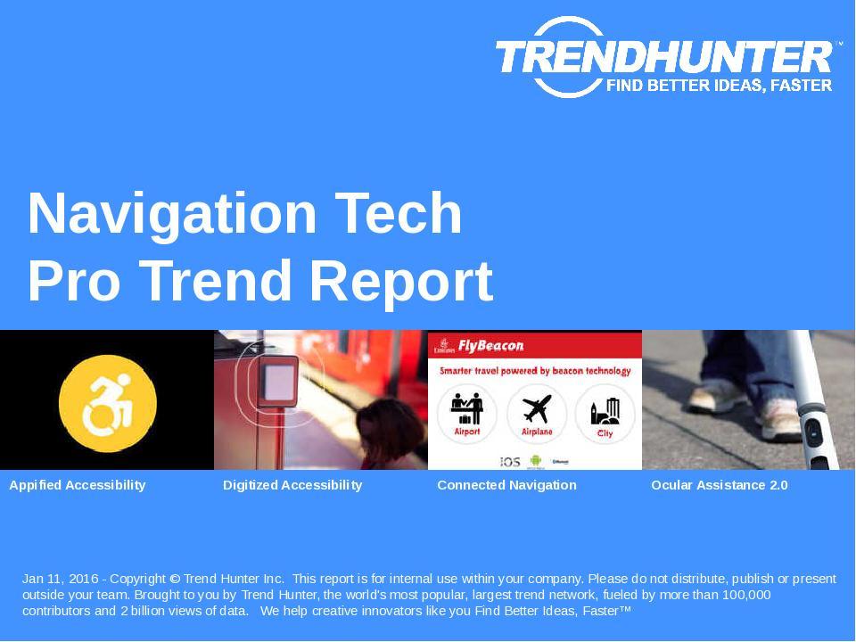 Navigation Tech Trend Report Research