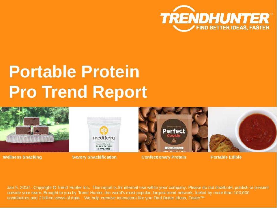 Portable Protein Trend Report Research