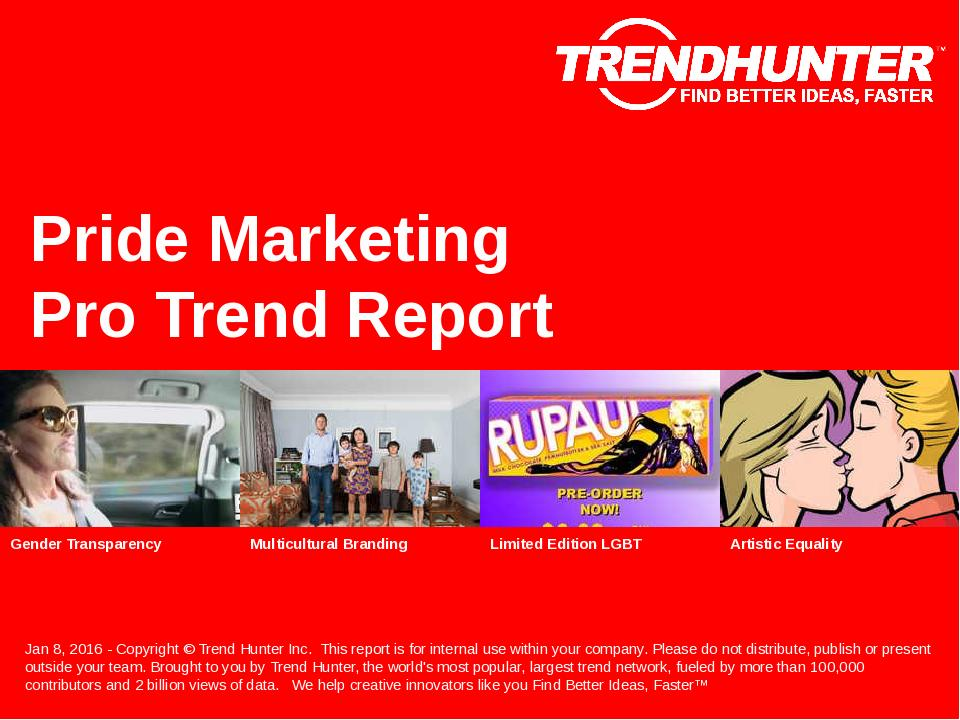 Pride Marketing Trend Report Research