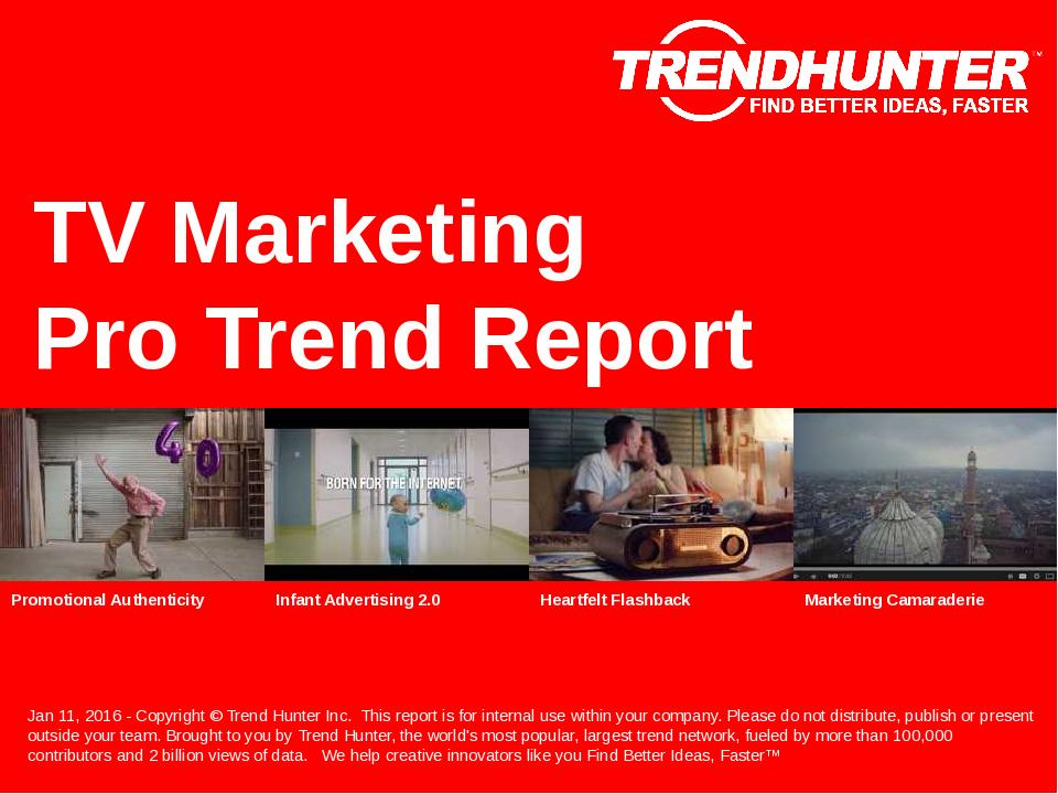 TV Marketing Trend Report Research