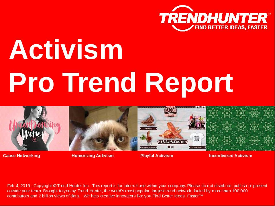 Activism Trend Report Research