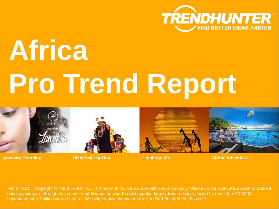 Africa Trend Report Research