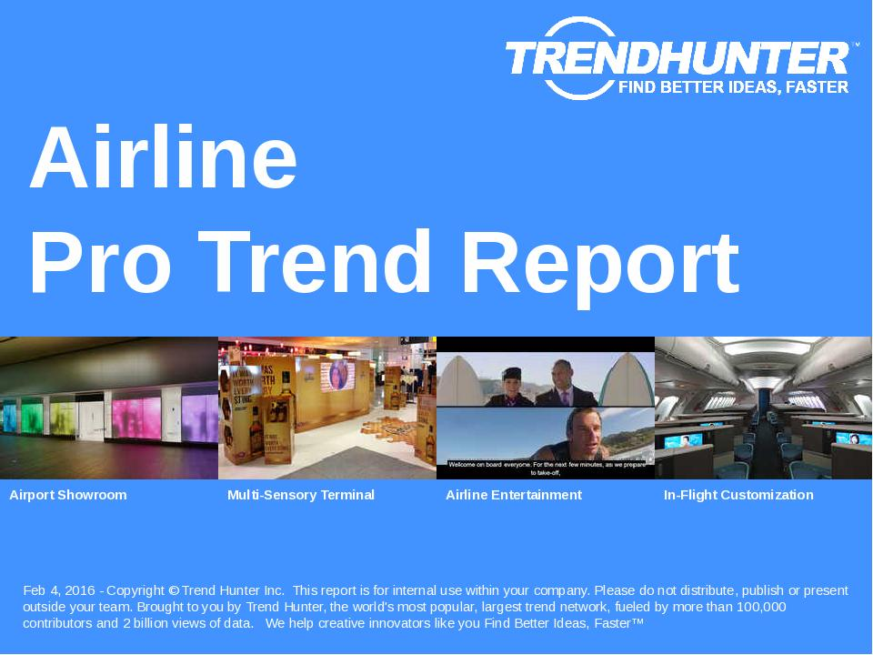 Airline Trend Report Research