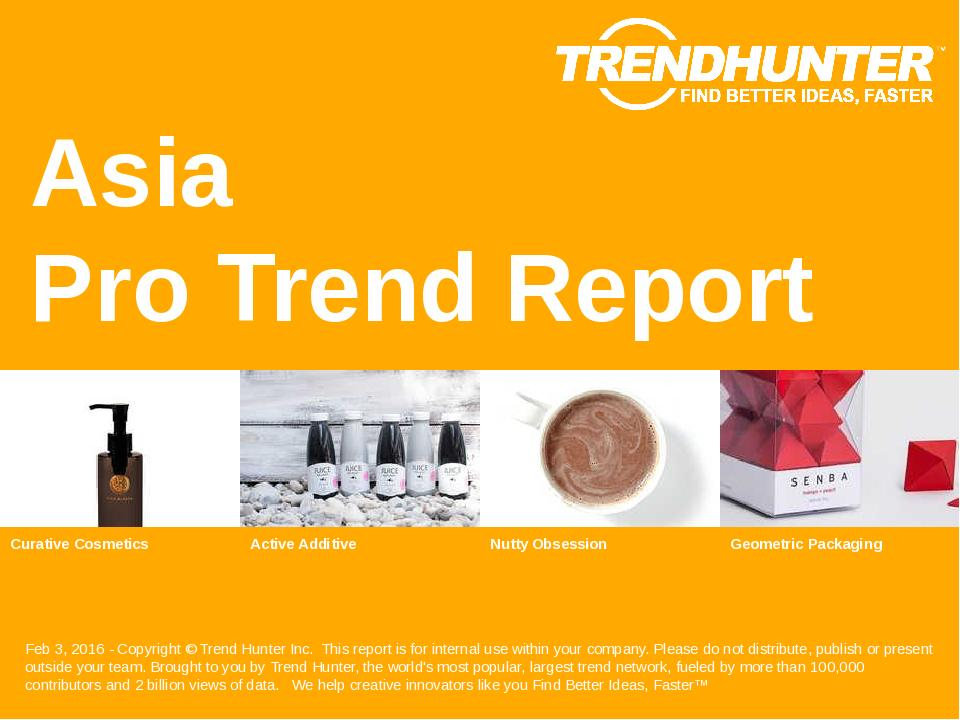 Asia Trend Report Research