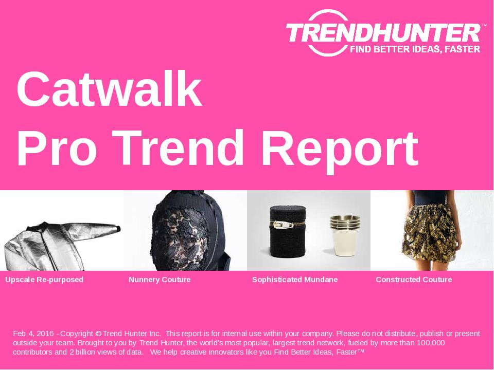 Catwalk Trend Report Research