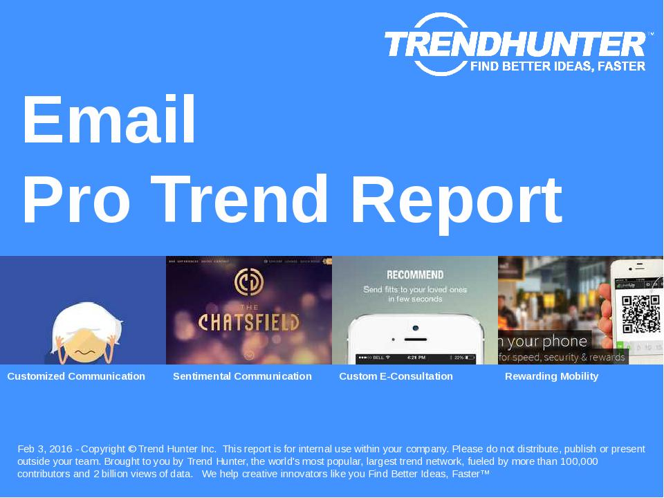 Email Trend Report Research