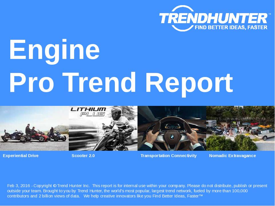 Engine Trend Report Research