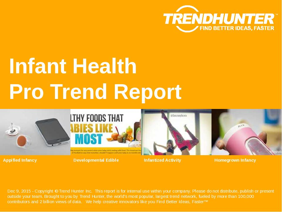 Infant Health Trend Report Research