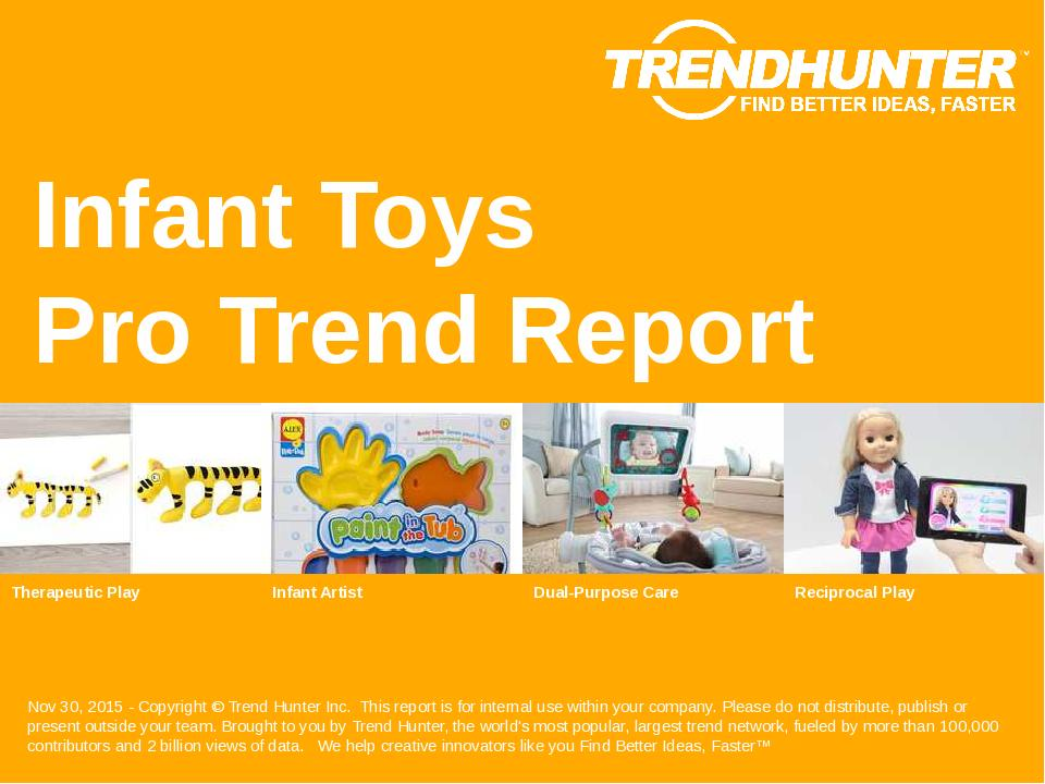 Infant Toys Trend Report Research