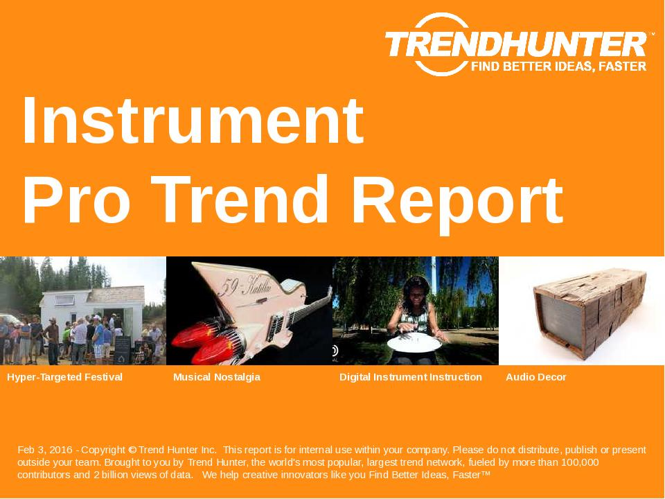 Instrument Trend Report Research