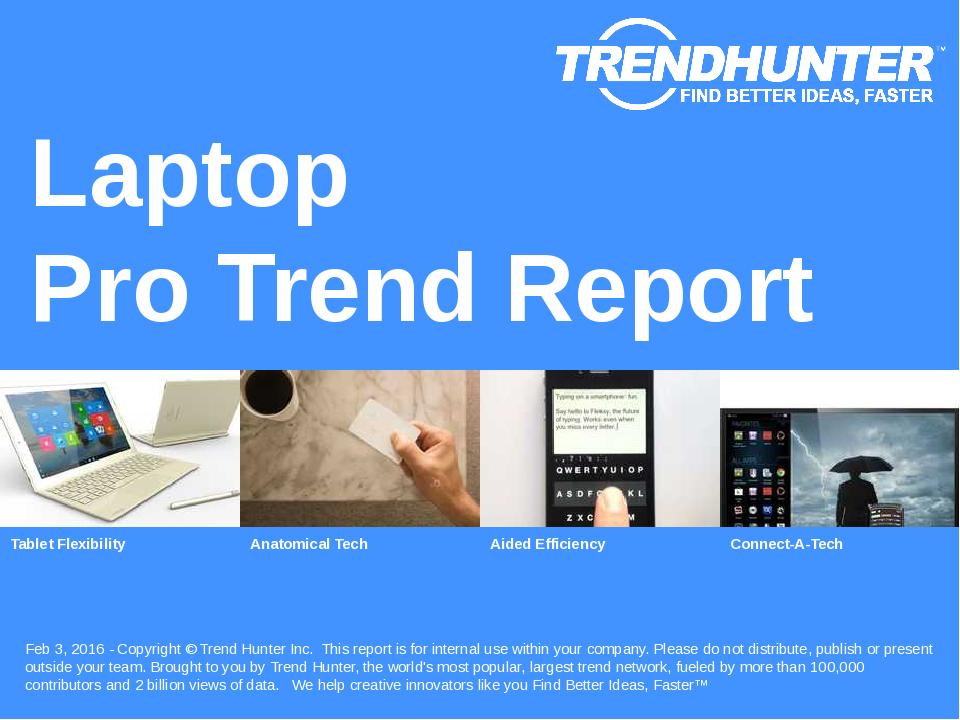 Laptop Trend Report Research