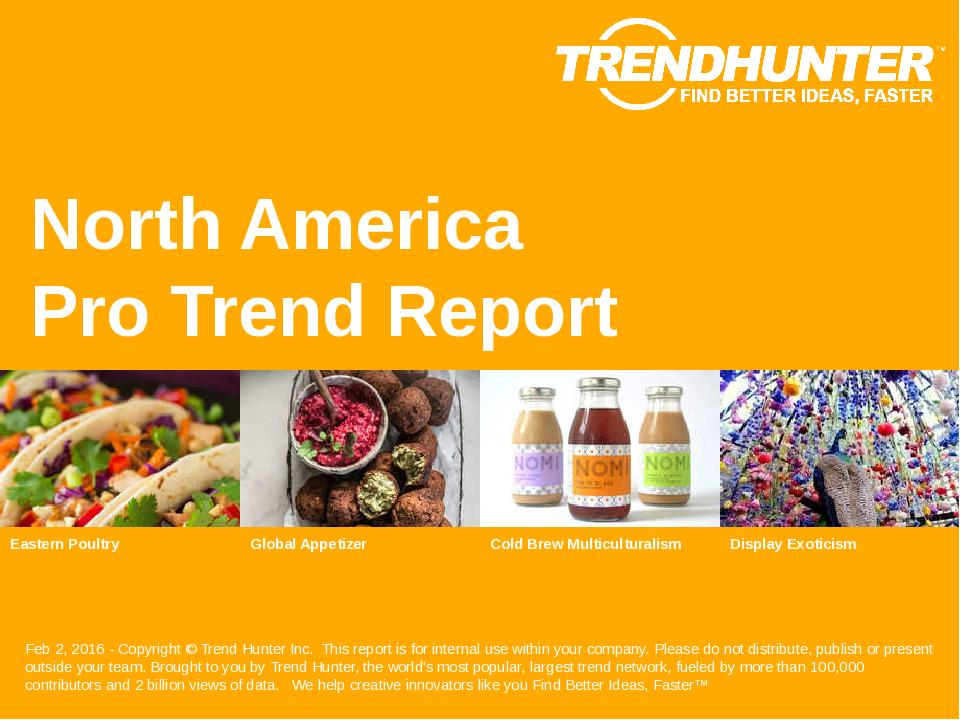 North America Trend Report Research