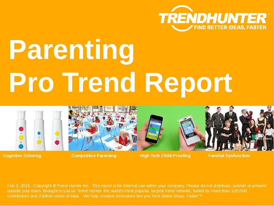 Parenting Trend Report Research