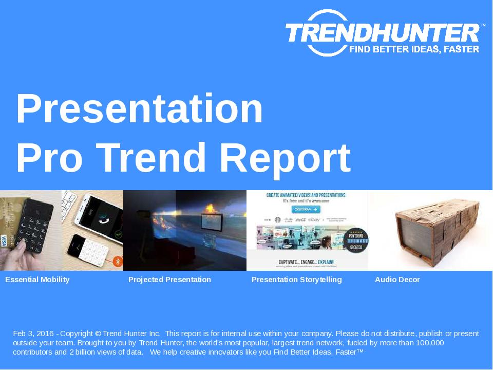 Presentation Trend Report Research