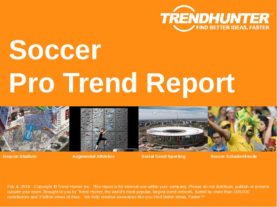 Soccer Trend Report Research