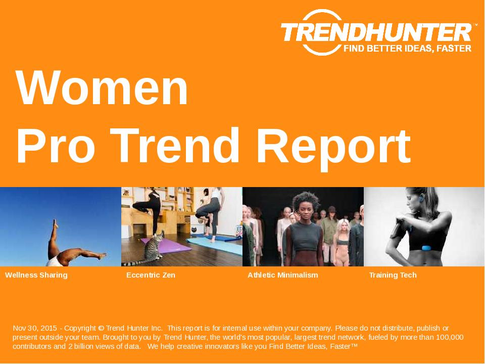 Women Trend Report Research