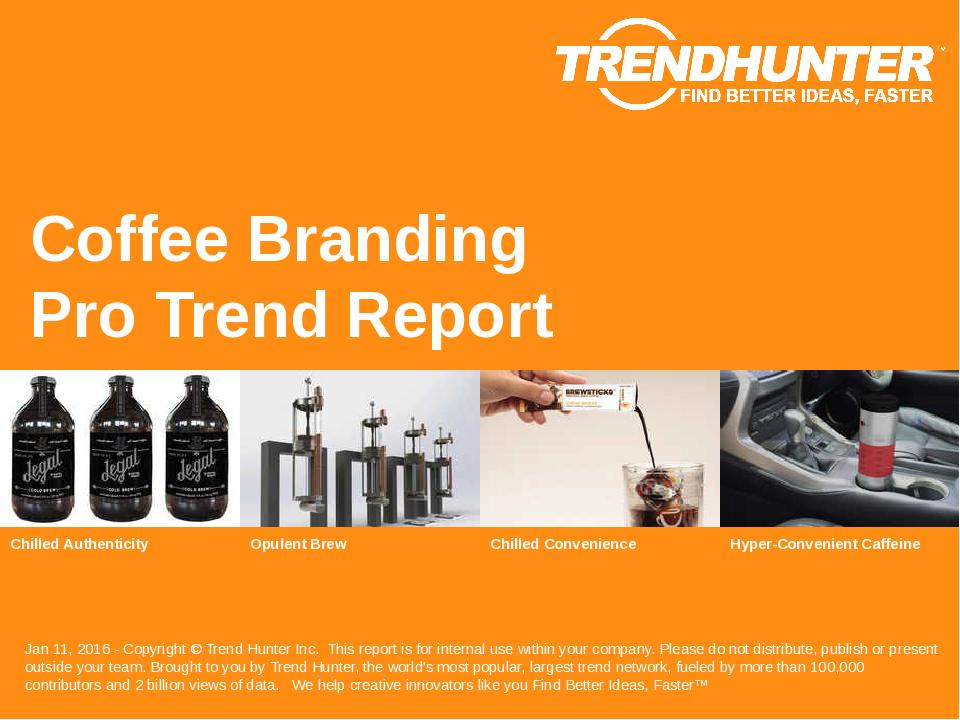 Coffee Branding Trend Report Research