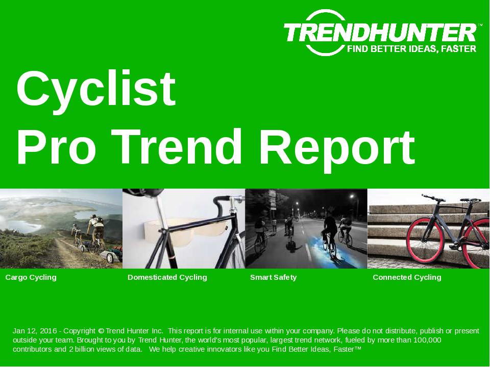 Cyclist Trend Report Research