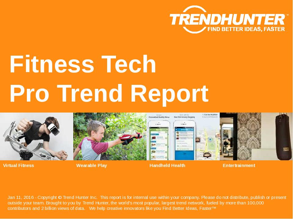 Fitness Tech Trend Report Research