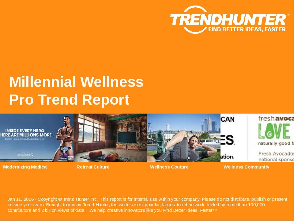 Millennial Wellness Trend Report Research