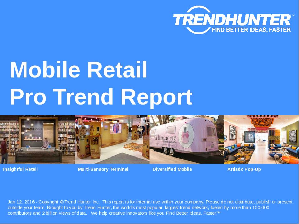Mobile Retail Trend Report Research
