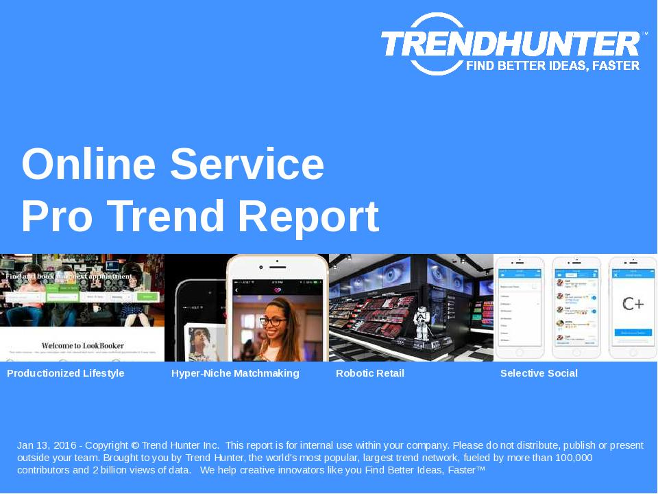 Online Service Trend Report Research