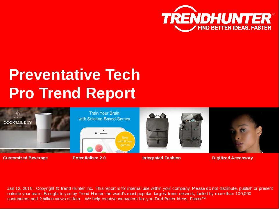 Preventative Tech Trend Report Research